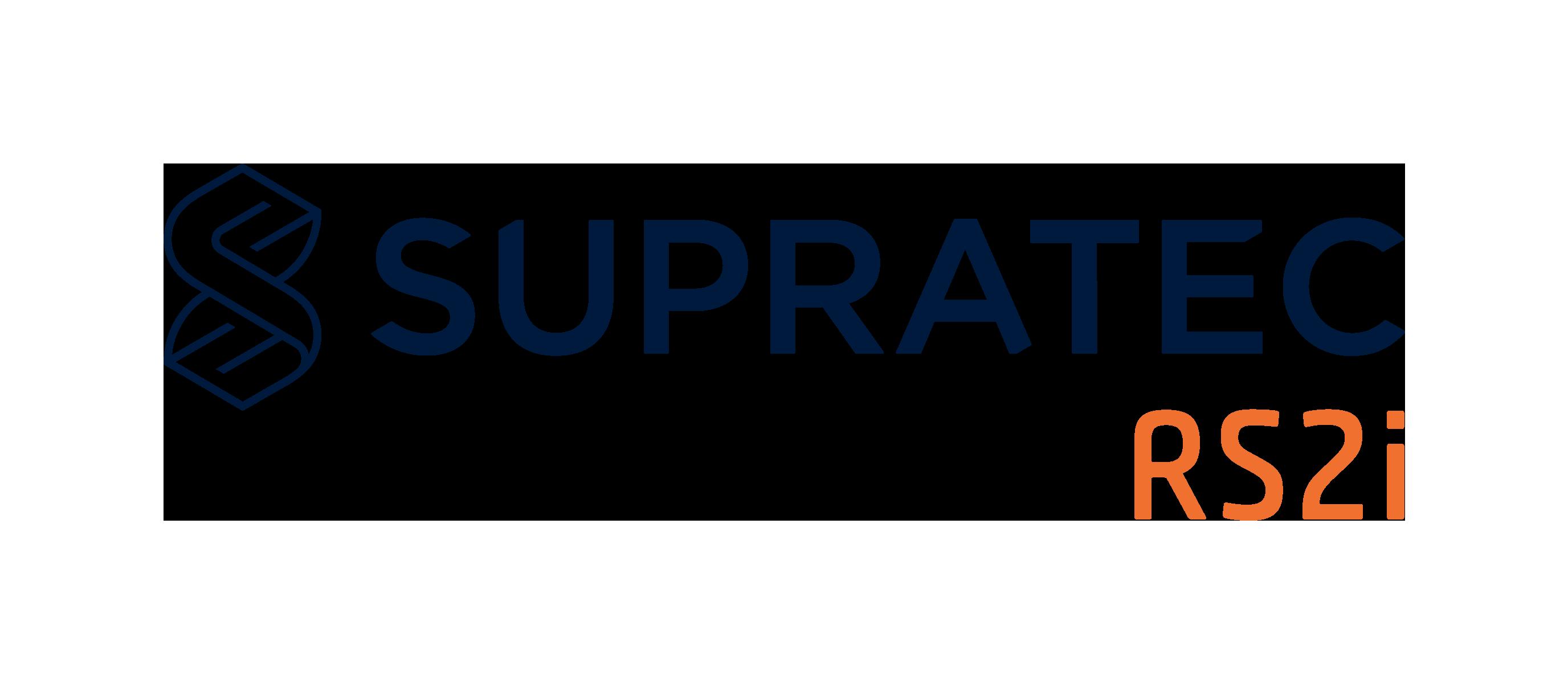 Logo the brand SUPRATEC RS2i